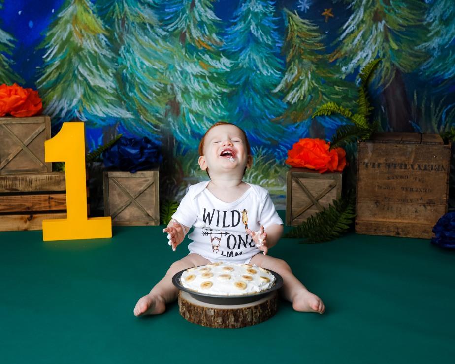 Becci Hethcoat Photography-Cake Smash Session Photographer-Wheaton--22